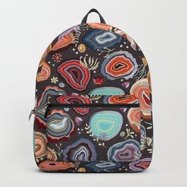 Colorful agates Backpack