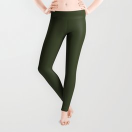 Cedar Creek ~ Moss Green Leggings