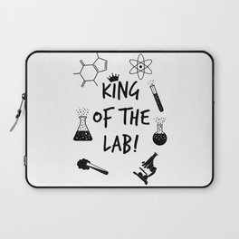 King of The Lab 2 Laptop Sleeve