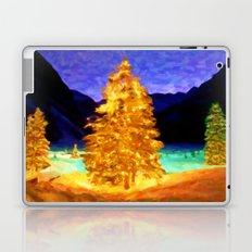 Christmas Trees - Painting Style Laptop & iPad Skin