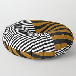 Different Sides (yellow) Floor Pillow