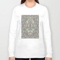 medieval Long Sleeve T-shirts featuring Medieval Symmetry by Shute Illustration