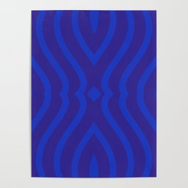 Bluesy Twist Poster
