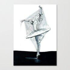 Dancing Stiff Canvas Print