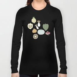 Vegetables (color) Long Sleeve T-shirt