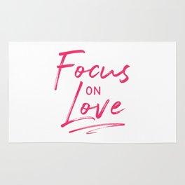 Focus on Love Rug
