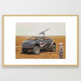 Prius Road Machine Framed Art Print