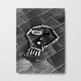 Ritual Skull Metal Print