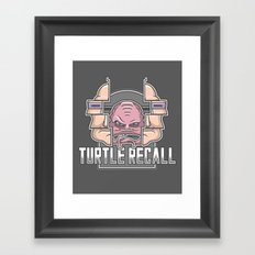 Turtle Recall Framed Art Print