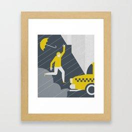 Bad day Framed Art Print