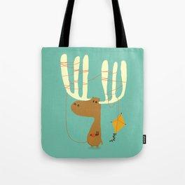 A moose ing Tote Bag
