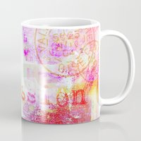 passion Mugs featuring Passion by LebensART