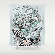 Soft summer Shower Curtain