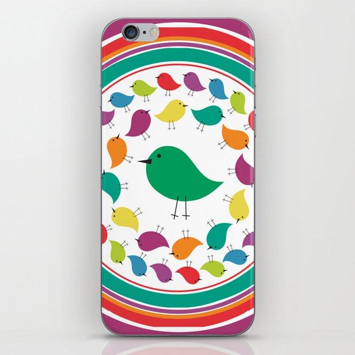 The Bird Parade iPhone Skin