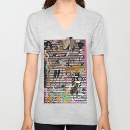 Still - Hanging Out In Coney Island Unisex V-Neck
