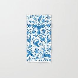 Mexican Otomí Design in Light Blue Hand & Bath Towel