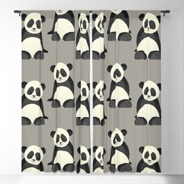 Whimsy Giant Panda Blackout Curtain