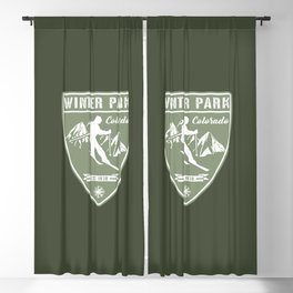 Winter Park Colorado Blackout Curtain