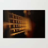 bass Canvas Prints featuring Bass by Alexandre Maia