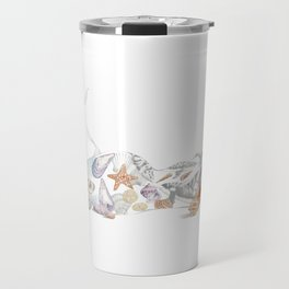 Beached Mermaid Travel Mug