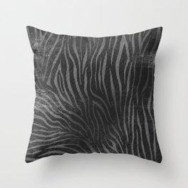 Zebra G.B Throw Pillow