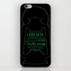 Gatsby believed in the green light iPhone & iPod Skin