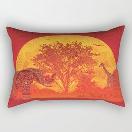Afrika Rectangular Pillow