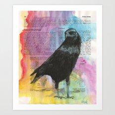 Raven 420 Art Print