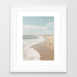 California Beach Framed Art Print