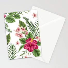 Tropical Flowers vol.3 Stationery Cards