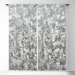 Crush velvet grey silver pattern Blackout Curtain