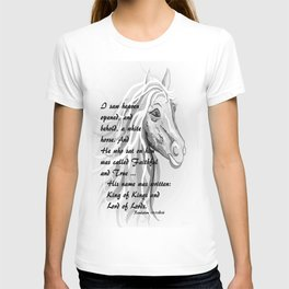 White Horse of a King T-shirt