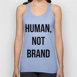 Human, Not Brand Unisex Tank Top