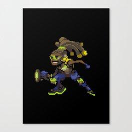 Lucio over Canvas Print