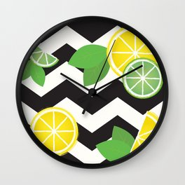 Simply the Zest Wall Clock