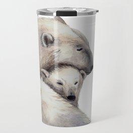 Polar Bears Family Travel Mug