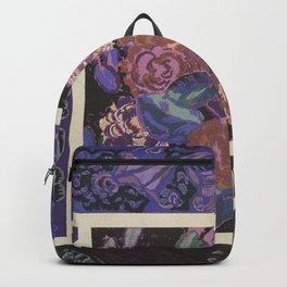 beautiful vintage floral pattern Backpack