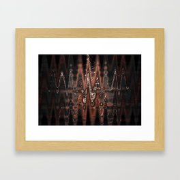 Molten Mud Framed Art Print
