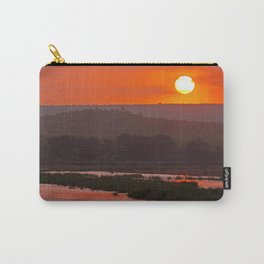 Sunrise at a river in Africa  Carry-All Pouch