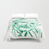 carl sagan Duvet Covers featuring Carl Jung by echoes