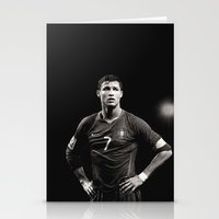 ronaldo Stationery Cards featuring Cristiano Ronaldo by Sport_Designs