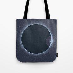 Total Solar Eclipse Summer 2017 Commemorative Poster (Pixel Art) Tote Bag