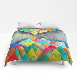 Impossible mountains 2 Comforters