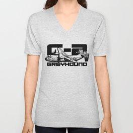 C-2 Greyhound Unisex V-Neck