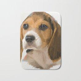 Beagle Pup Bath Mat