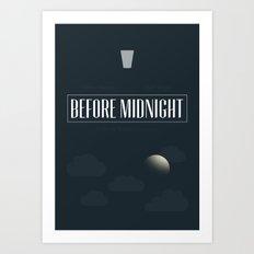 Before Midnight Art Print