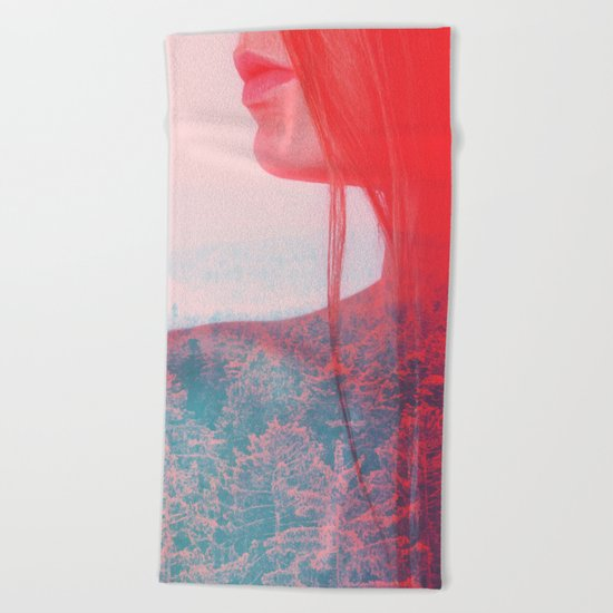Alter Ego #society6 #decor #buyart Beach Towel