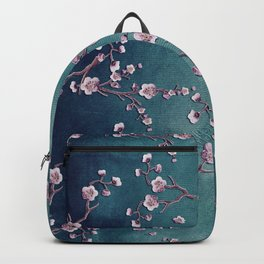 SAKURA LOVE  GRUNGE TEAL Backpack