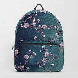 SAKURA LOVE  GRUNGE TEAL Backpack