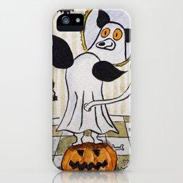 MyOddFilippo is ready for Halloween iPhone Case